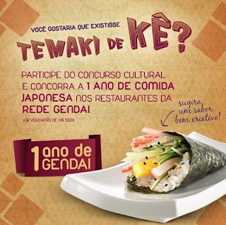 """Concurso Temaki de Kê?"""