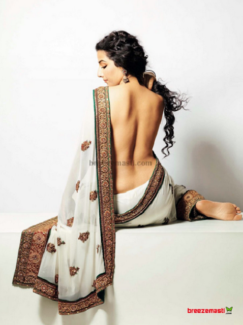 Vidya Balan, Exclusive Unseen, Photo In Saree,