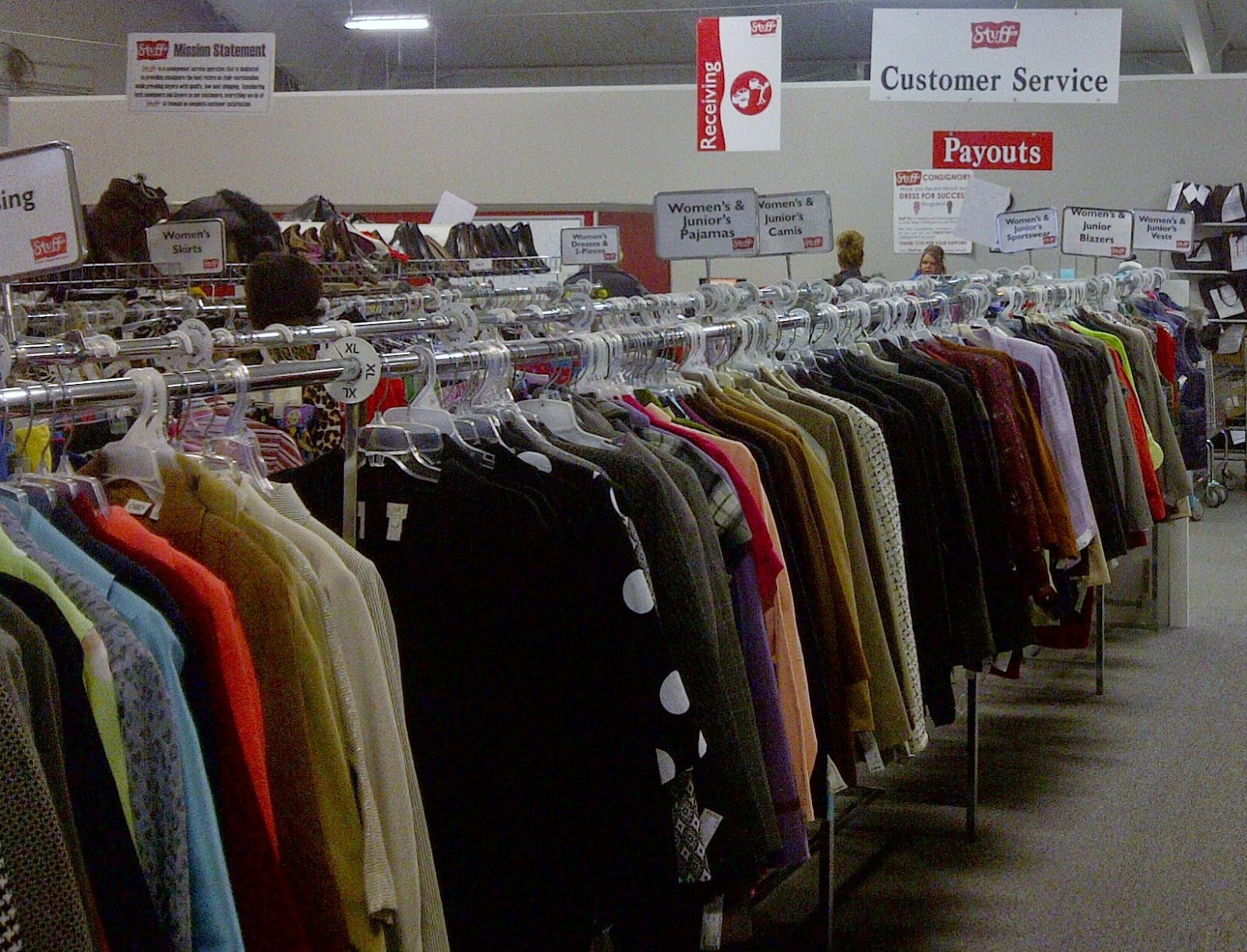 Save money on clothes at consignment shops