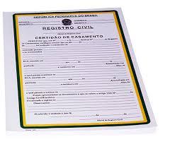 Como tirar segunda via da certidão de casamento?