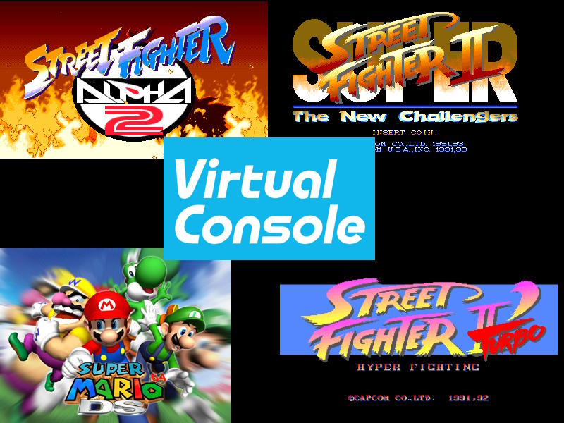 9to5 Technews Super Mario 64 Ds 3 Street Fighter Games Are Now Available On Wii U 3ds Virtual Console