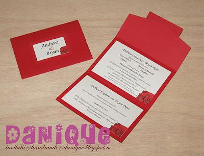 invitatii nunta danique - INN208