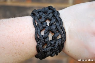 Crochet Men's Paracord Bracelet