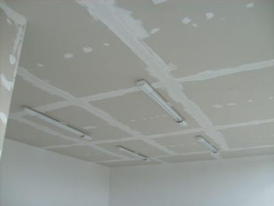Como consertar teto de gesso