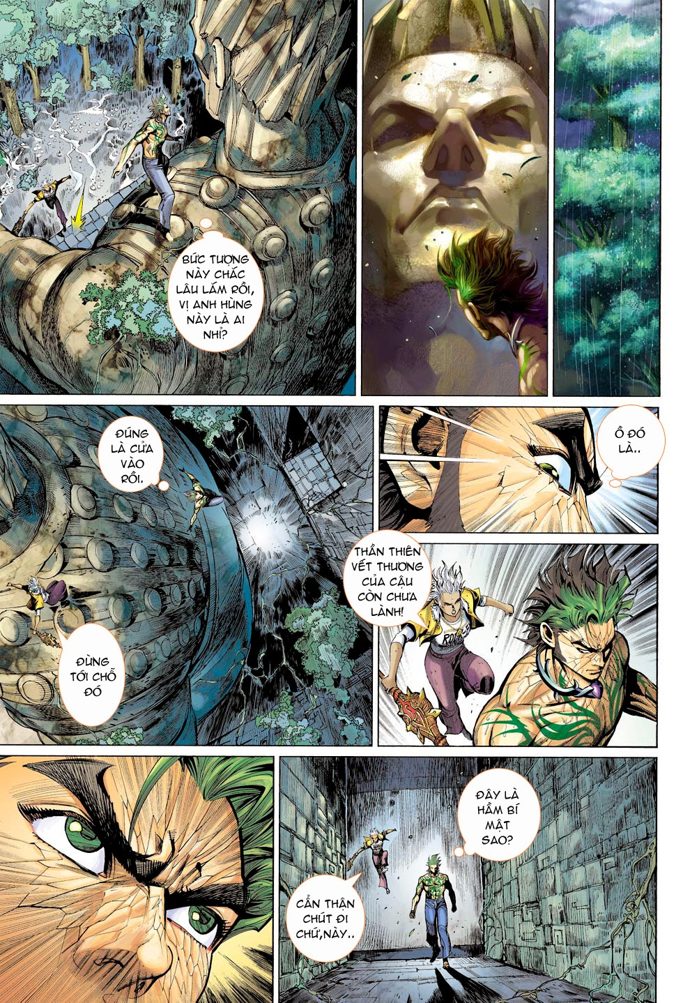 Thần Binh 4 chap 26 - Trang 32