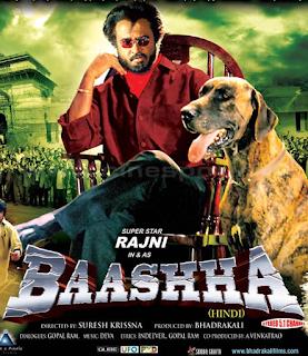 Baasha 1995 Hindi Dual Audio 480p HDRip 300MB