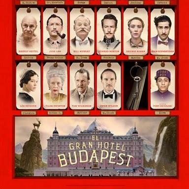 """Concurso """"El Gran Hotel Budapest"""". Sorteamos 10 entradas dobles"""