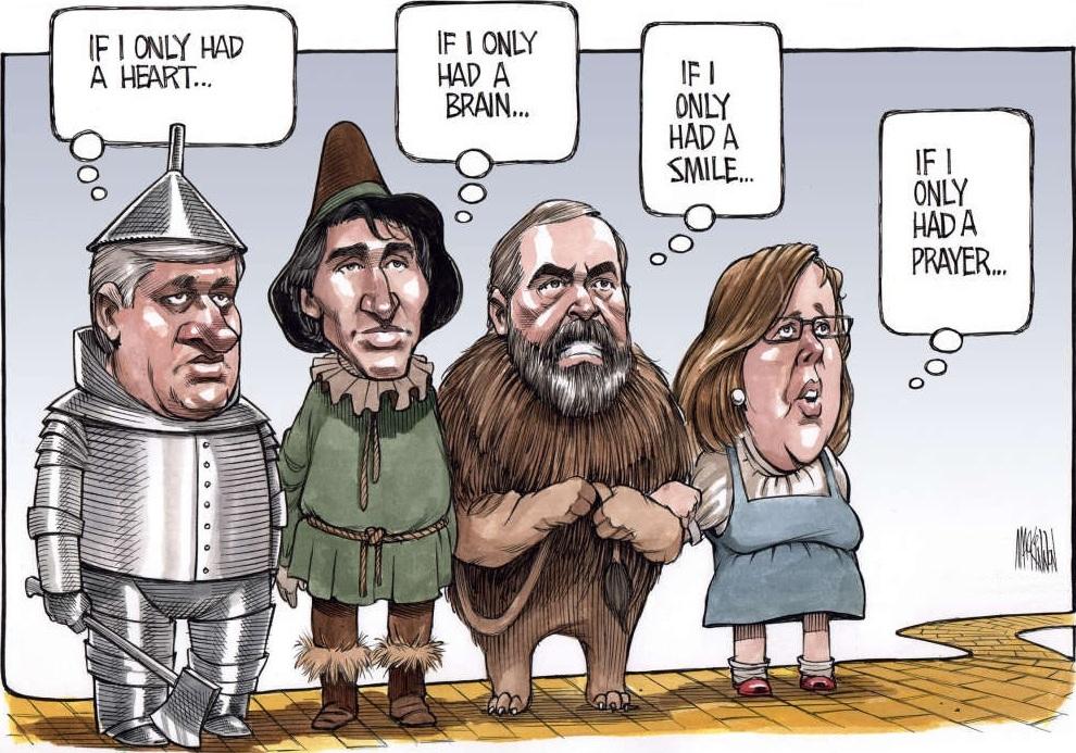 Bruce MacKinnon: The Wizard of Oz.