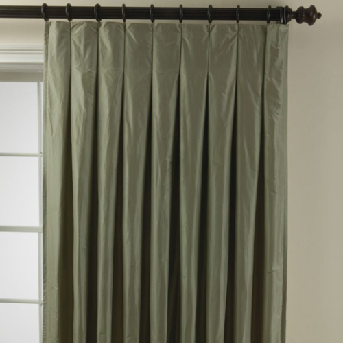 Как сделать складки на шторах при помощи шторной ленты