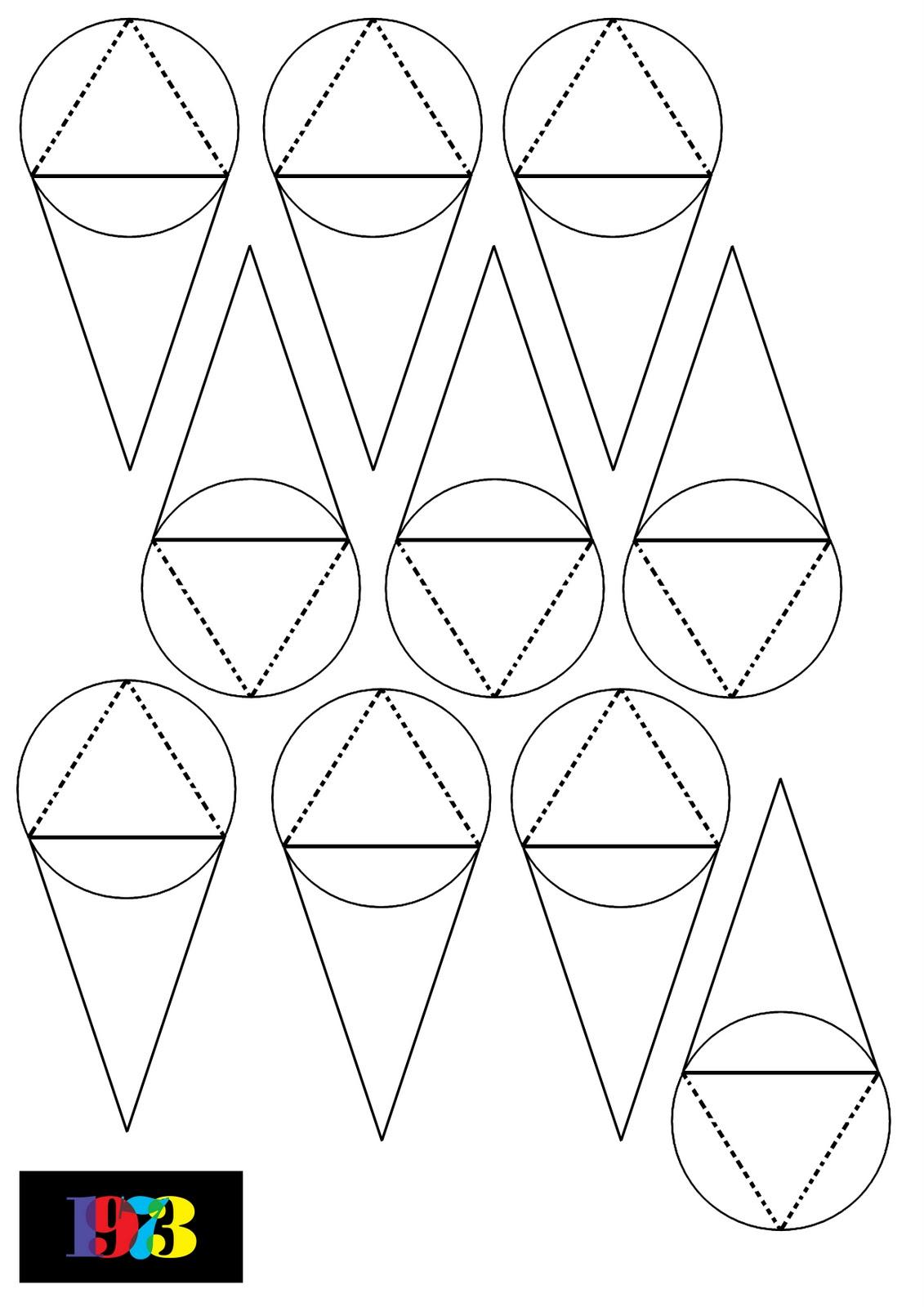 Nineteenseventythreeltd paper craft stars for Paper star pattern template