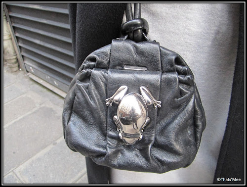 Sac Bourse grenouille cuir Marc Jacobs Marie Laffont