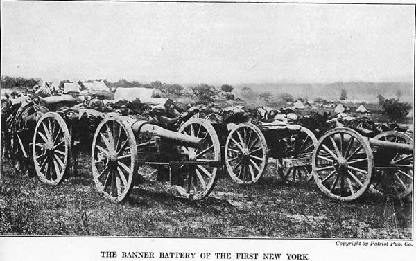 Climbing My Family Tree: 1st NY Light Artillery