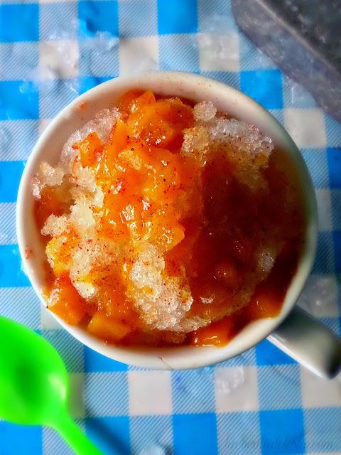 Raspado de Mango (Mango Snow Cone) - lacocinadeleslie.com