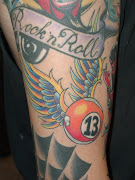 rock'n roll tattoo old school