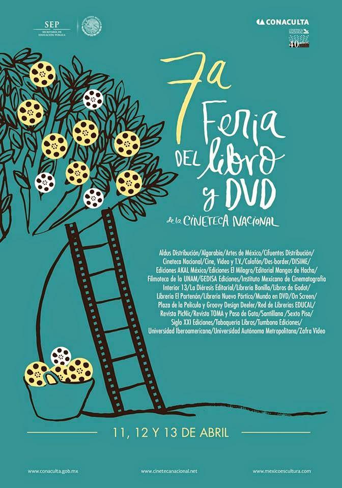 7ma. Feria del Libro y el DVD en la Cineteca Nacional