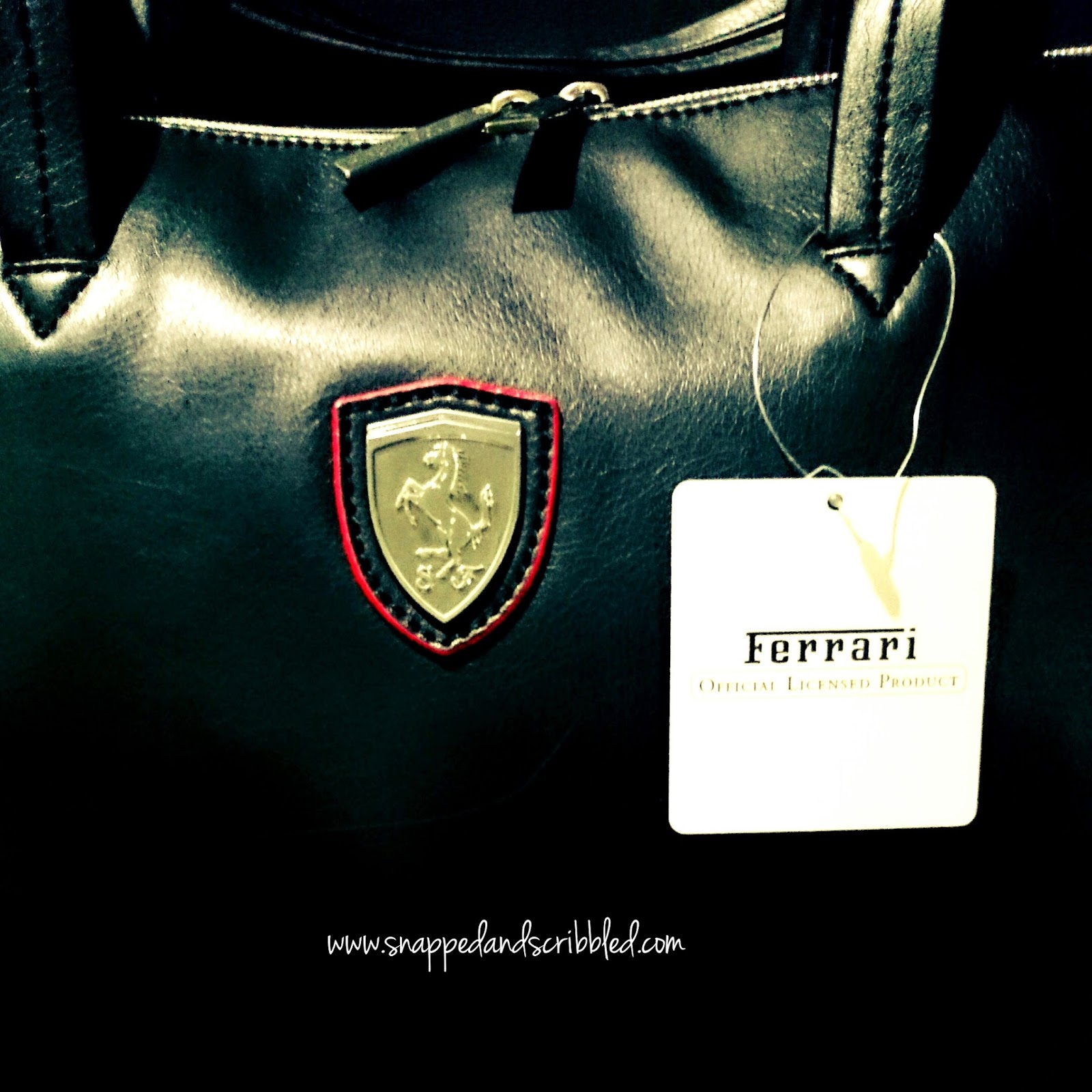 Ferrari Bag and Anniversaries