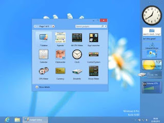 8GadgetPack : Install your favorite gadgets on Windows 8