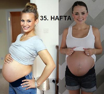hamilelikte 35. hafta, hafta hafta gebelik, hafta hafta hamilelik, gebeliğin 35. haftası