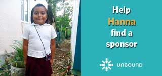 Help a Child find a Sponsor through Unbound