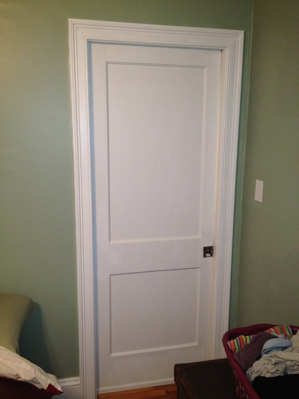 thomas j. remodeling LLC: New Pocket Door in Arlington Bedroom