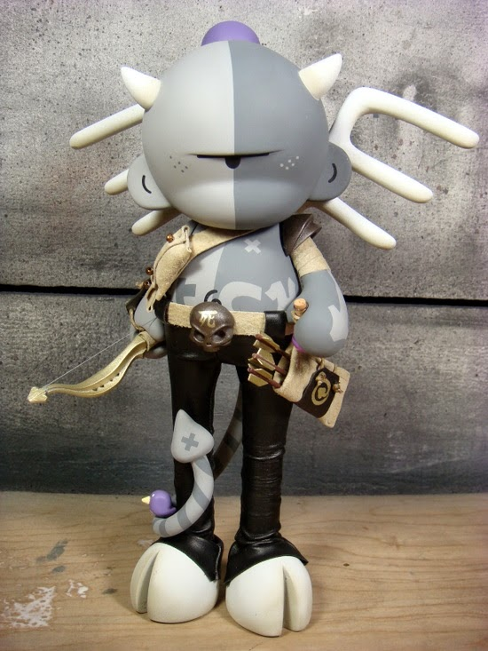 Fletcher the Grifling Custom Munny by Huck Gee