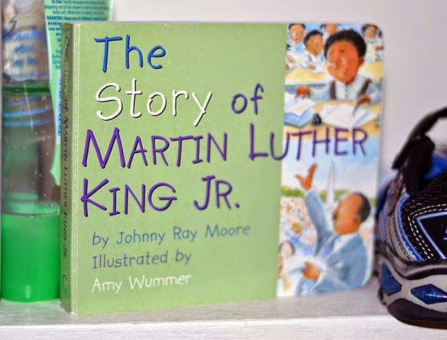 Cordier Events favorite MLK Board book