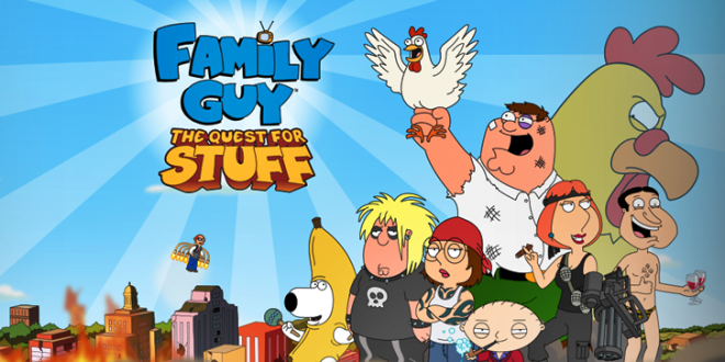 Family Guy The Quest For Stuff Hile Apk