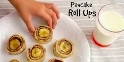 pancake roll-up