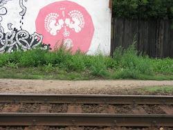Wycinanka streetartowa z artykułu z bloga Państwowego Muzeum Engraficznego w Warszawie