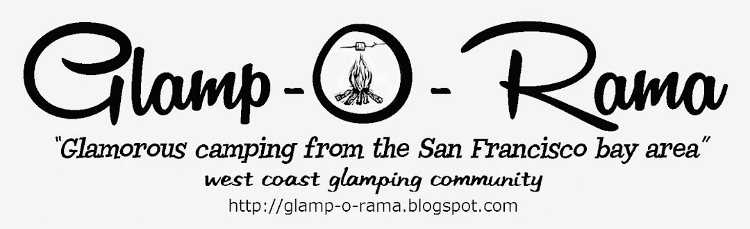 West Coast Glamping Community | Come join the fun! | CA glamping from the San Francisco Bay Area