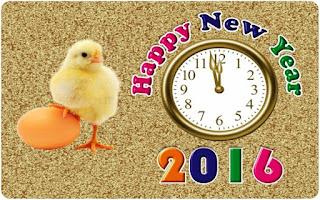 Kartu Ucapan Happy new year 2016 selamat tahun 2016 26