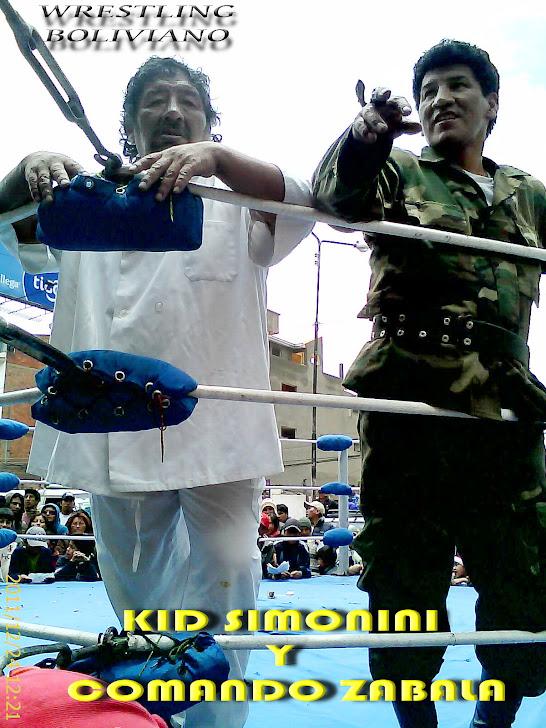 "Lucha Libre Boliviana LIDER: Kid Simonini, Craken y Juanita ""La Cariñosa"""
