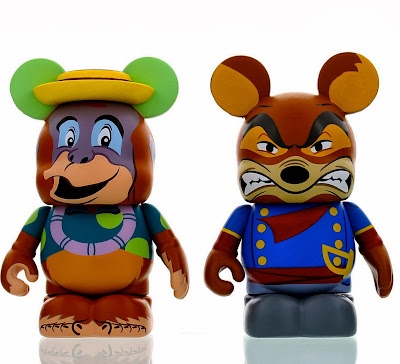 TaleSpin Series 2 Disney Afternoon Vinylmation 2 Pack - Louie & Don Karnage