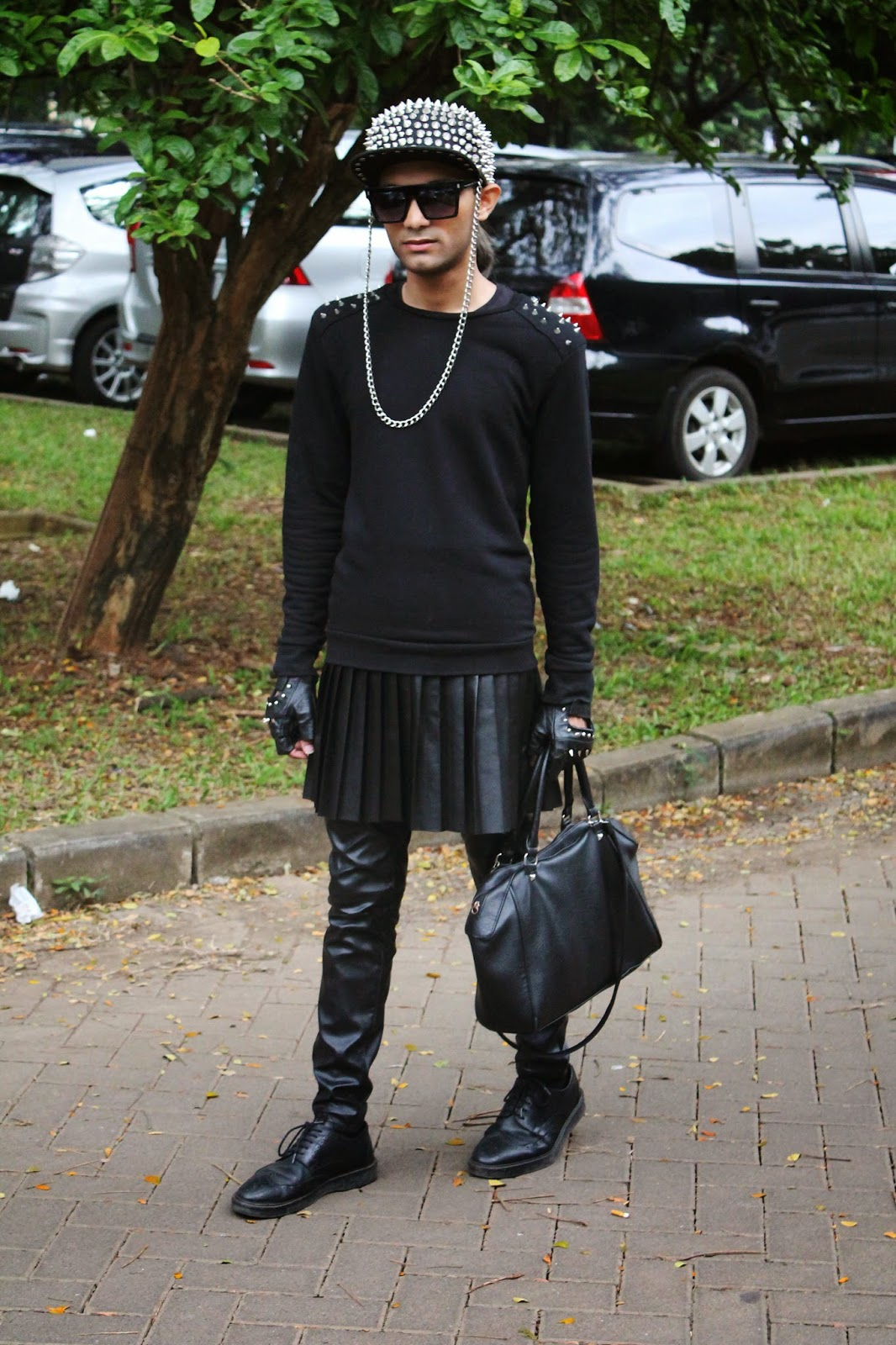 Mr Rebel In Town The Extravagant Black Indonesia Fashion Week 2015 Outfit Day 4