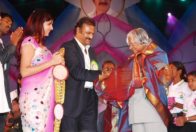 APJ Abdul Kalam and Mohanbabu family