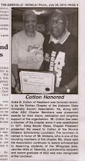 Artis Cotton Looks Back