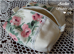 Beauty case shabby chic