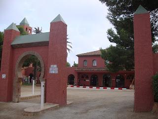 El Templo del Sol - Naturist Camping reception - L'Hospitalet de L'Infant