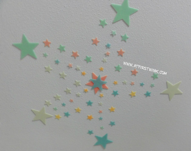 Glow in the dark stars on my ceiling
