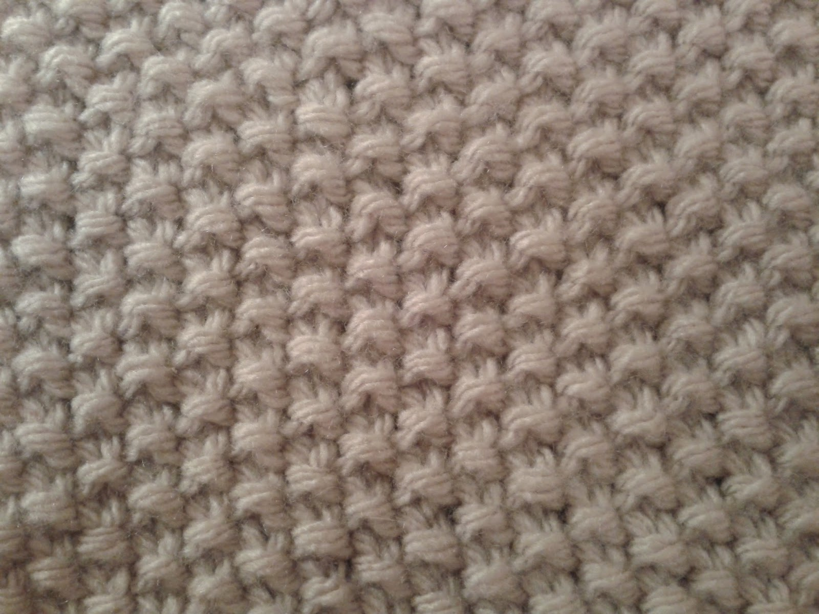 Knitting Stitches Seed Stitch : LK401. The Seed Stitch