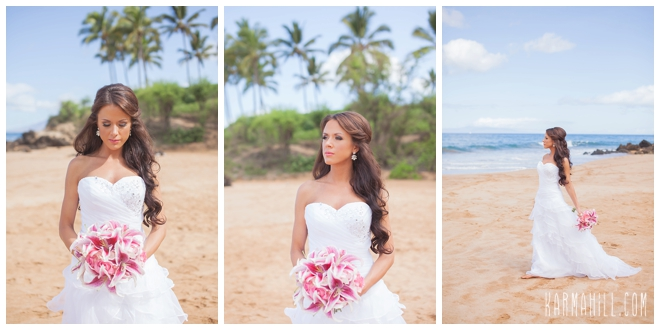Bridal hair tips by maui stylist adiel cline key pieces pulled back junglespirit Images