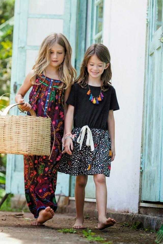A Fábula moda niña