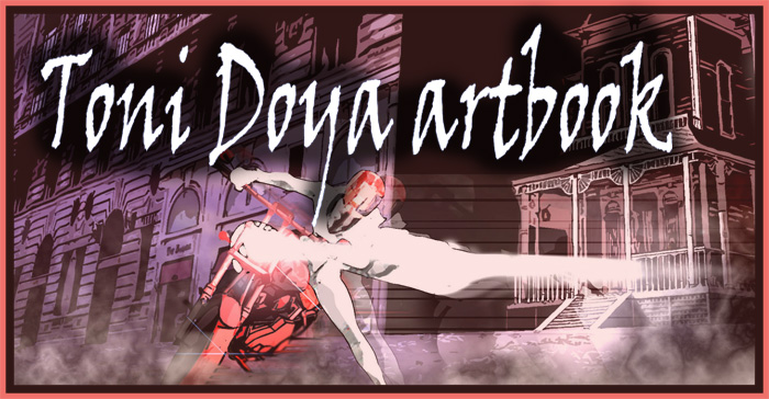 Toni Doya artbook