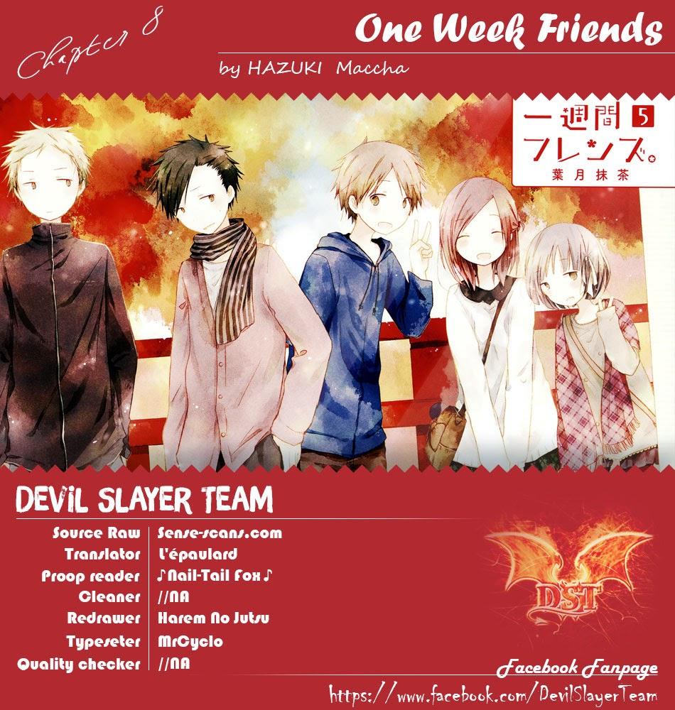 One Week Friends DST Chap 8 - Next Chap 9