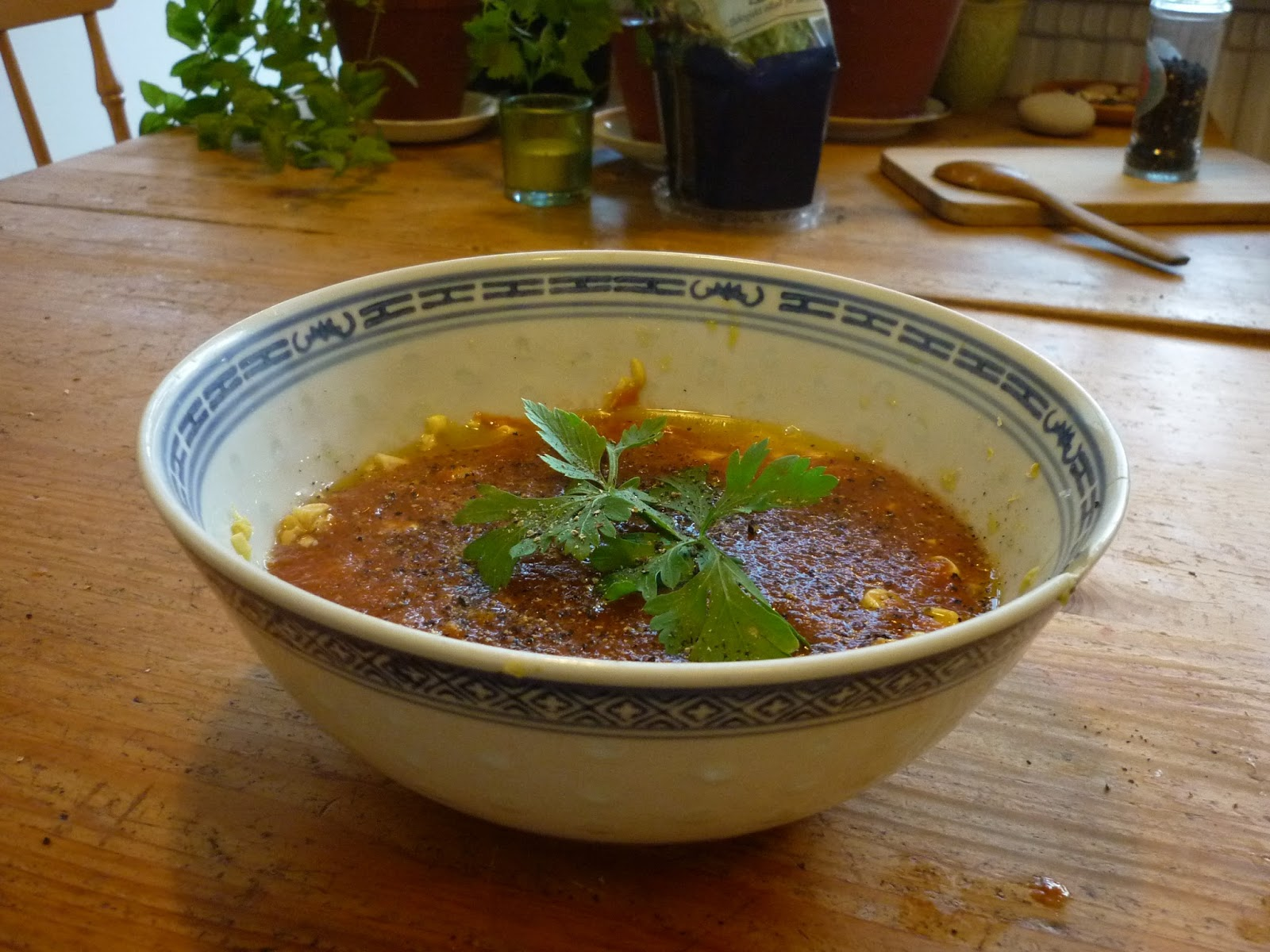 Food to Change the World: Sweet Chipotle Tomato Soup with Corn