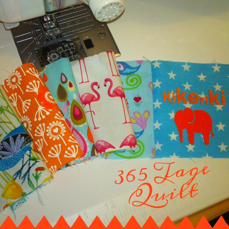 365 Tage Quilt - Ein Gemeinschaftsprojekt 2014