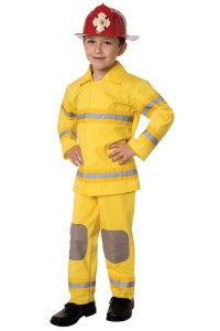 Child Size Fireman Costume