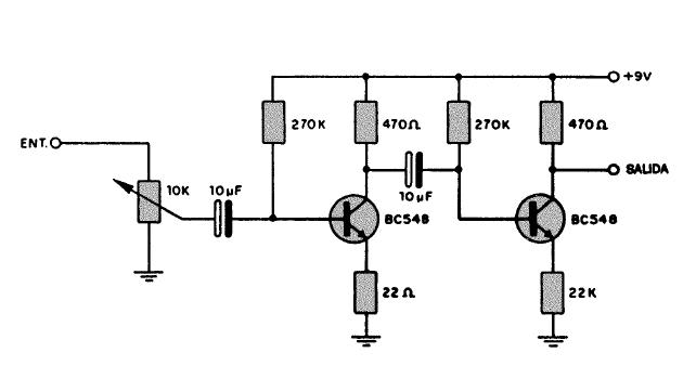Circuito Amplificador : Electronica proyectos circuito amplificador de audio