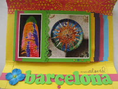 Scrapbook Mini álbum Barcelona