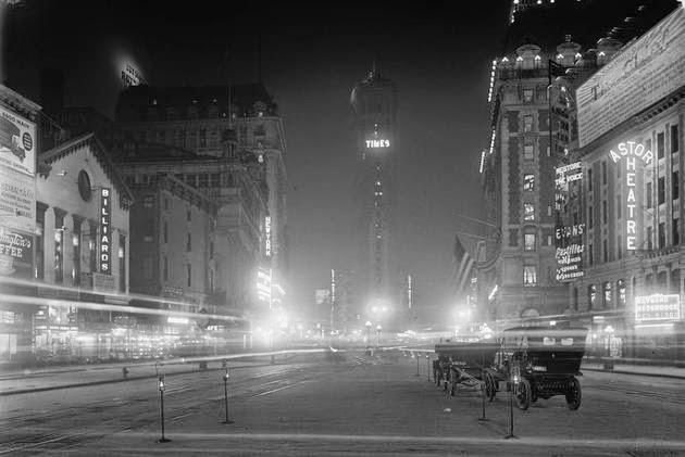 Times Square en 1911